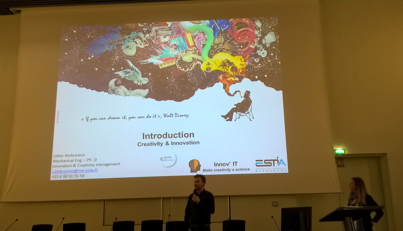 Cross4Health Ideas Contest Event France 2018 presentation photo