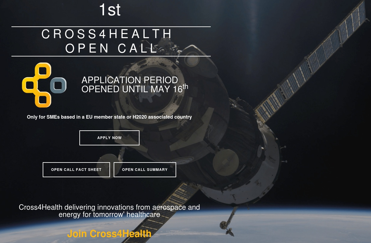 Cross4Health 1st Open call